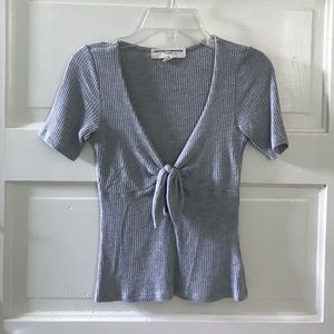 Project Social T/Urban Outfitters Grey Top
